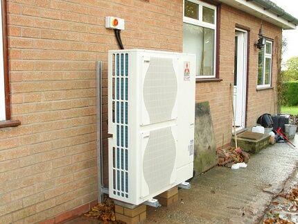 Устройство наружного контура теплового насоса воздух вода