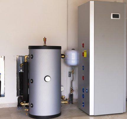 Как установить теплообменник теплового насоса вода вода