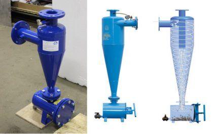 Гидроциклон для устройства теплового насоса вода вода
