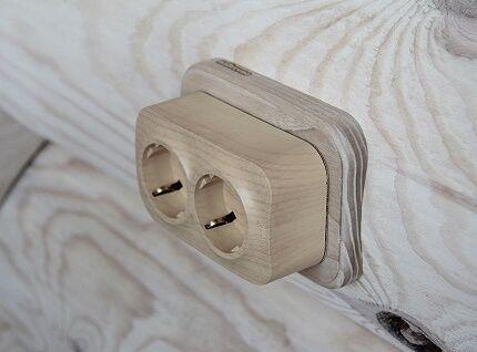Когда используют накладные розетки и выключатели