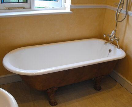 Дизайнерская установка ванны