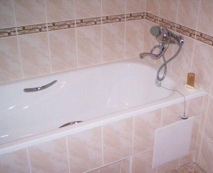 Облицовка ванны своими руками