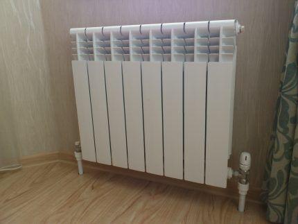 Радиатор для теплового насоса Френетта