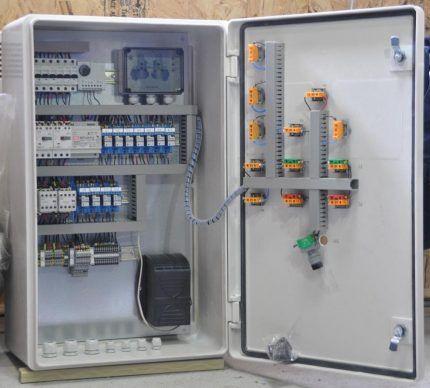 Подключение КС к электропитанию