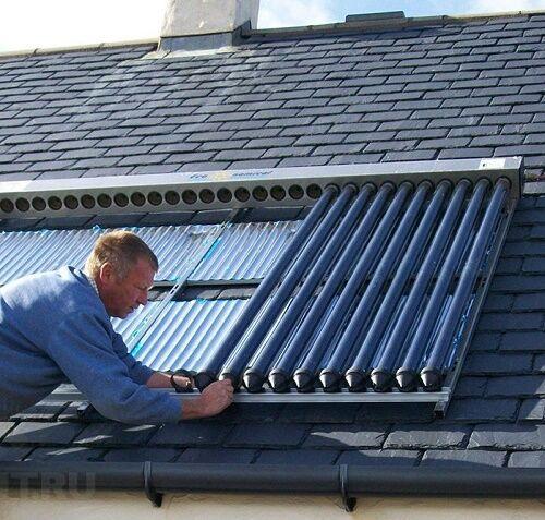 Можно ли отопить дом солнечными батареями