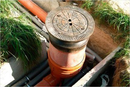 Как сделать дренажный колодец для канализации? Как сделать канализационный колодец в частном доме: материалы и технология строительства