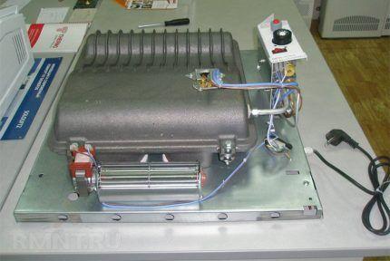 Конвектор с вентилятором