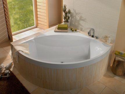 Ванна из кварила