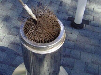 Прочистка дымовых труб