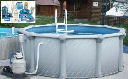 Как легко сделать частный бассейн своими руками