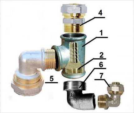 Схема устройства эжектора