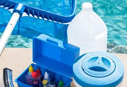 Очистка воды в бассейне флокулянтами