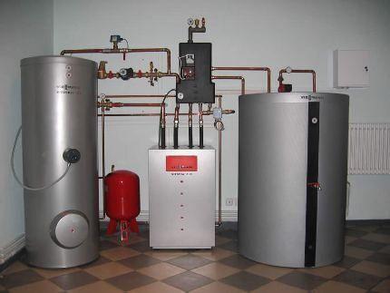 Использование газа для отопления дома