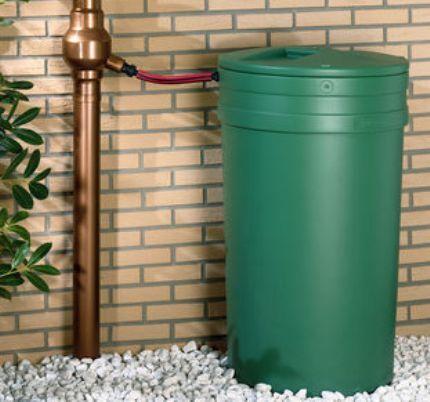 Накопительная бочка для дождевой воды
