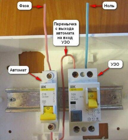 Применение защитного автомата