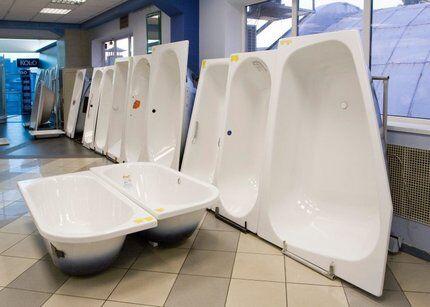 Разнообразие выбора сантехники