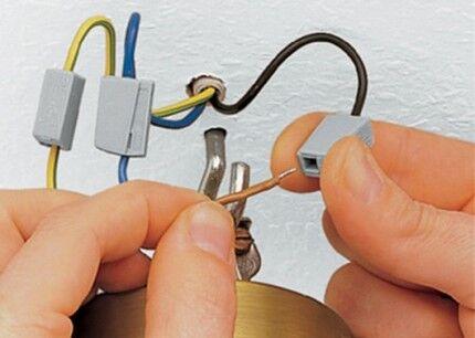 Последовательность соединения проводов