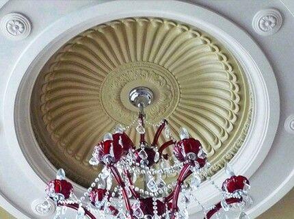 Врезная модель купольного типа