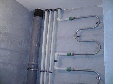 Система из полипропиленовых труб