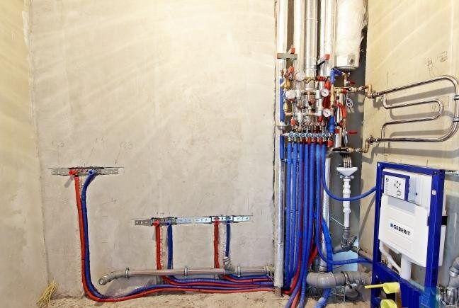 Замена стояков водоснабжения в многоквартирном доме