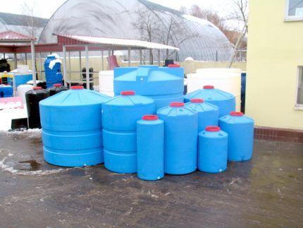 Полимерные резервуары