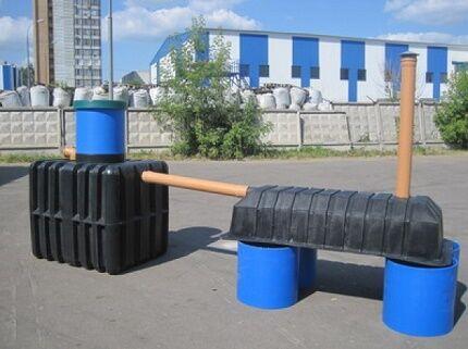 Комплектующие очистного сооружения с септиком Танк