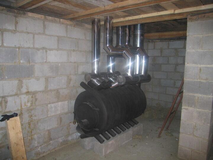 Воздушного отопления дома своими руками