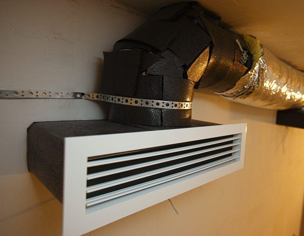 Воздушное отопление частного дома от печи