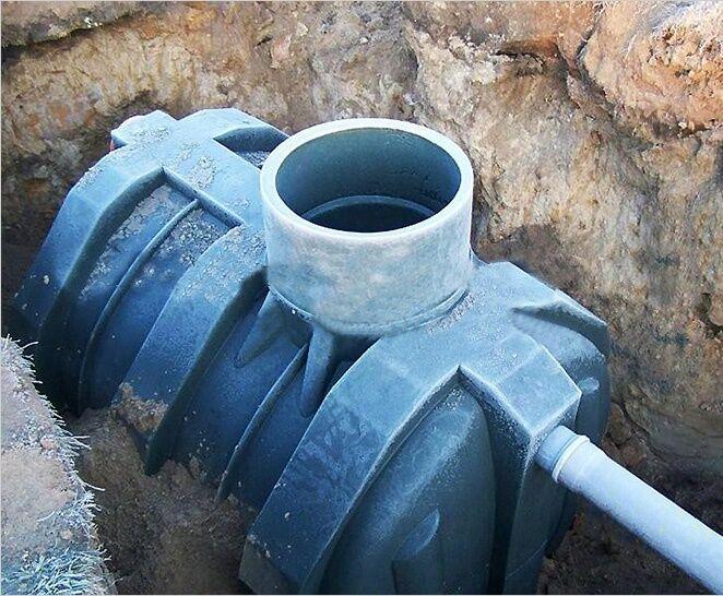 Выбор накопительной емкости для современной канализации