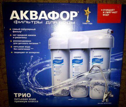 Один из лучших фильтров для токой очистки воды