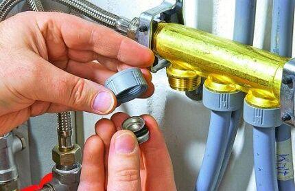Как найти площадь сечения коллектора для отопления