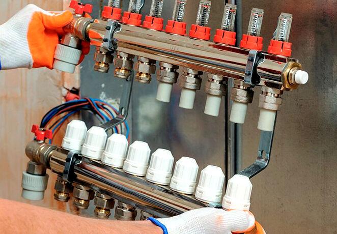 Распределительный коллектор отопления своими руками схемы нюансы сборки