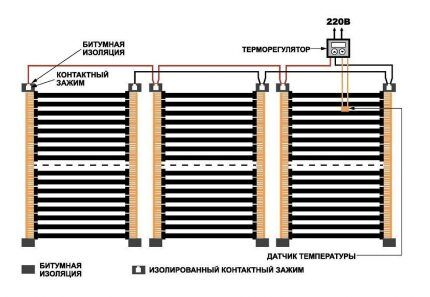 Схема монтажа ПЛЭН