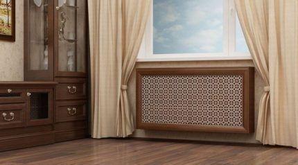 Решетки для радиаторов парового отопления