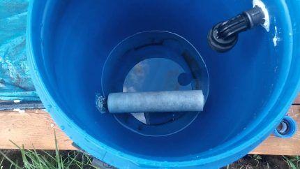 Вариант изготовления водозаборного коллектора