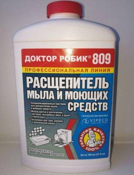Препарат с бактериями для септиков Доктор Робик