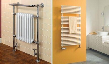 Способы замены и подключения полотенцесушителя в ванной