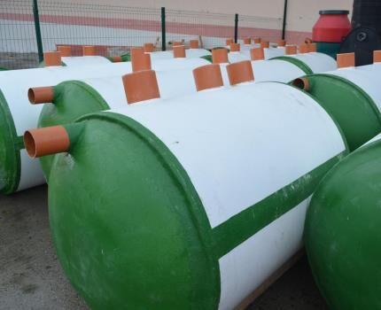 Септики накопители для автономной канализации