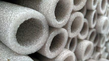 Утеплитель для пластиковых труб