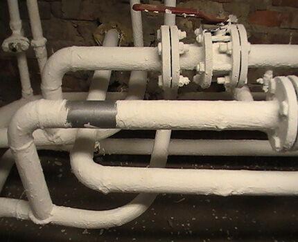 Утепление водопровода теплоизоляционной краской