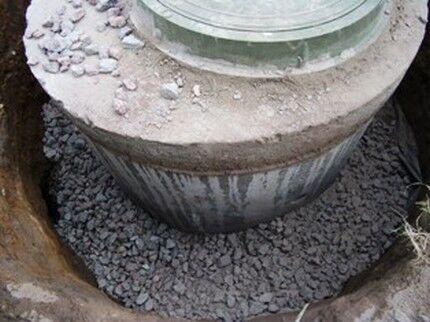 Щебеночно-песчаная отсыпка в основании