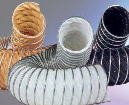 Тканевые вентиляционные каналы