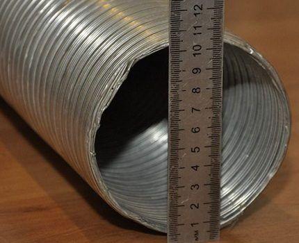 Измерение гофры