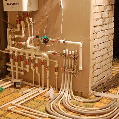 Газовое отопление частного дома  как выбрать систему типа разводки и котел