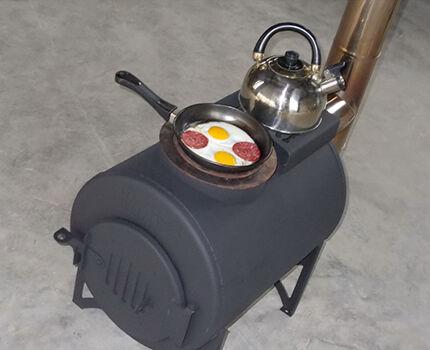 Печь для гаража своими руками самодельные печки и схемы изготовления