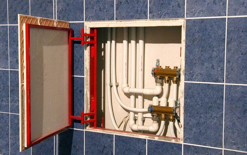 Разводка водопровода в частном доме: правила проектирования   обзор лучших схем