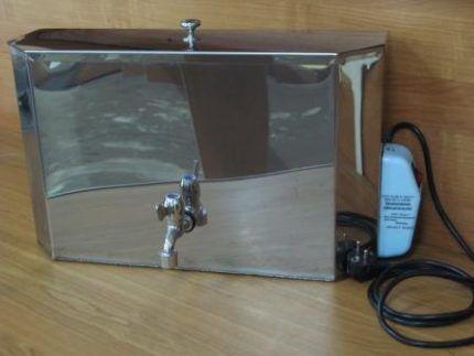 Электрический водонагреватель для дачи