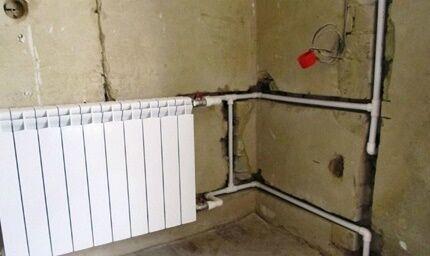 Как провести опрессовку отопления при скрытой прокладке