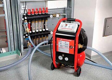 Испытания для трубопровода системы отопления