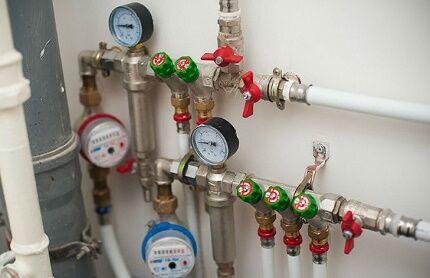 Порядок установки счетчиков воды
